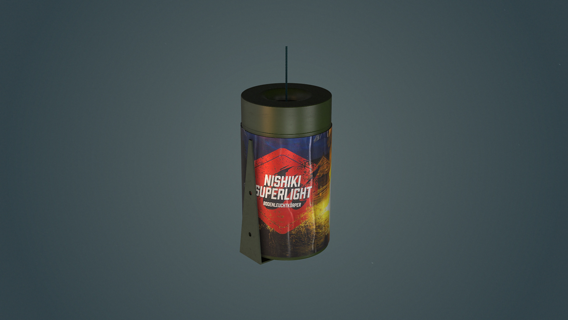 Nishiki Superlight - Effektbeleuchtung